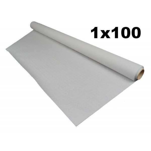 Rollo mantel papel blanco 1x100